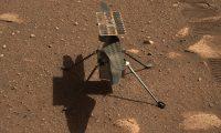 """USA8462. SAN JUAN (PUERTO RICO), 08/04/2021.- Fotografía cedida por la NASA donde se muestra un primer plano del helicóptero """"Ingenuity"""" tomado el 5 de abril por Mastcam-Z, un par de cámaras con zoom instaladas a bordo del rover """"Perseverance"""" en Marte. Elio Morillo, ingeniero de operaciones del explorador """"Perseverance"""" de la NASA, nacido en Ecuador pero que se siente puertorriqueño, conoce bien el significado de la perseverancia por todo el trabajo hecho hasta lograr participar en el proyecto del helicóptero """"Ingenuity"""", que hará su primer vuelo en Marte el próximo domingo. EFE/ NASA/ SÓLO USO EDITORIAL/SÓLO DISPONIBLE PARA ILUSTRAR LA NOTICIA QUE ACOMPAÑA (CRÉDITO OBLIGATORIO)"""