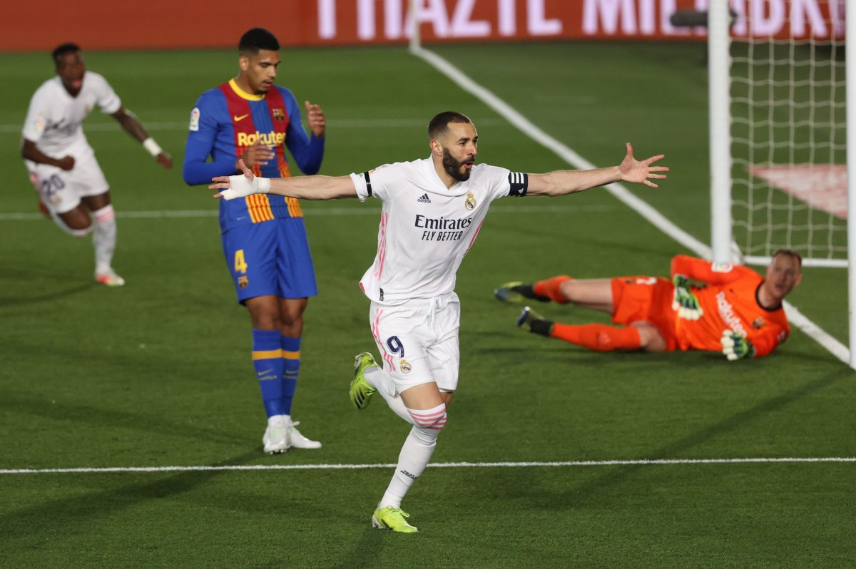 El Real Madrid gana el clásico contra el Barcelona e iguala en el liderato con el Atlético