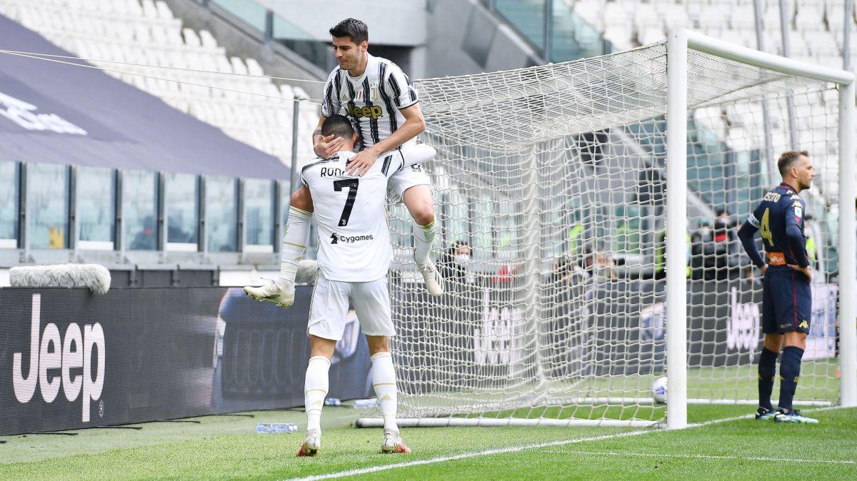 La Juventus, con gol de Morata, refuerza su plaza en Liga de Campeones