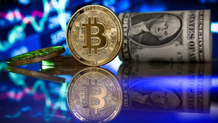 El bitcóin es la criptomoneda más utilizada en la actualidad. (Foto Prensa Libre: AFP)