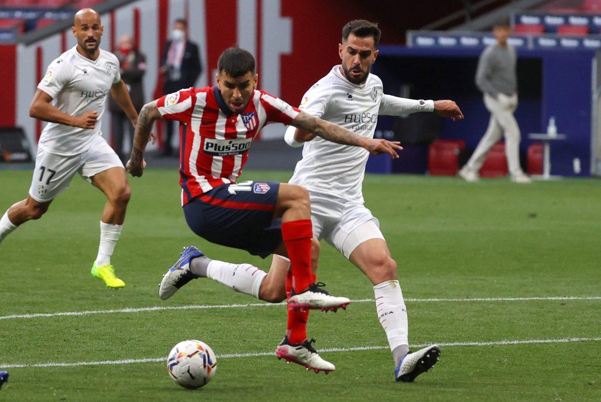 El Atlético Madrid vuelve al liderato tras ganarle 2-0 al S.D Huesca