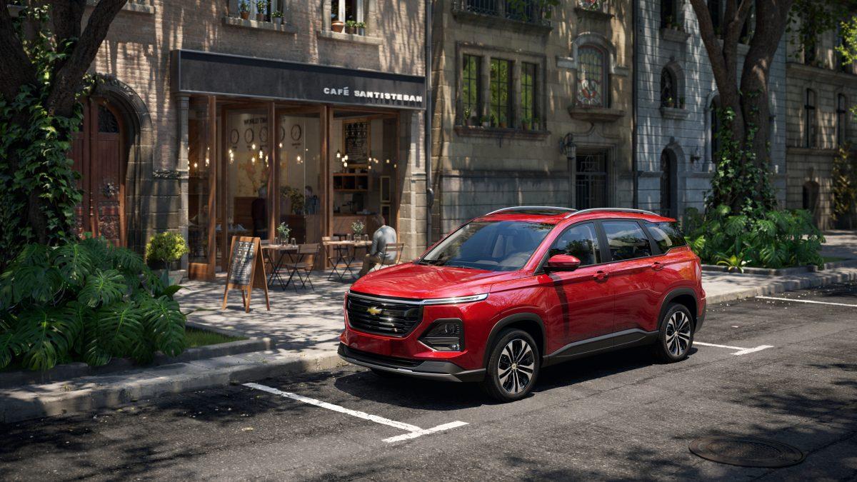 La Chevrolet Captiva viene con un nuevo diseño, versatilidad y un gran desempeño