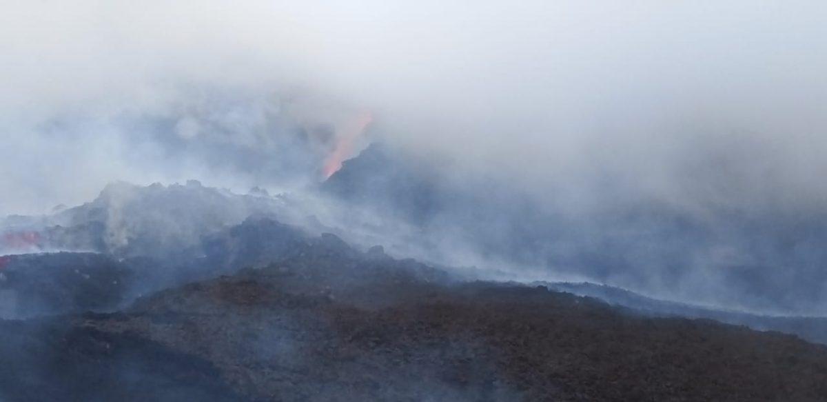Volcán de Pacaya: persiste la alerta ante nuevo flujo de lava y esta es la dirección que puede tomar en las próximas horas