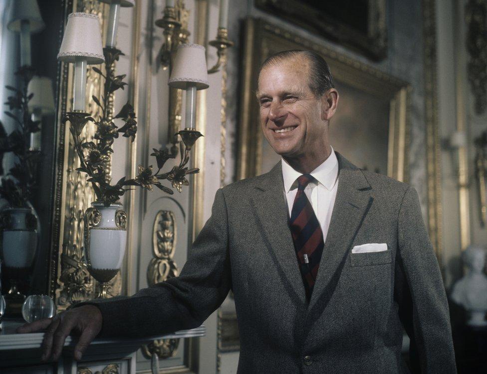 Príncipe Felipe: una vida en imágenes