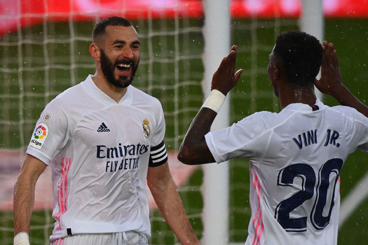 El Real Madrid vence al Éibar y se sube al segundo puesto liguero