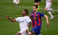 El Real Madrid viene de vencer al Éibar en el partido de la jornada 29 de la Liga española. (Foto Prensa Libre: EFE).