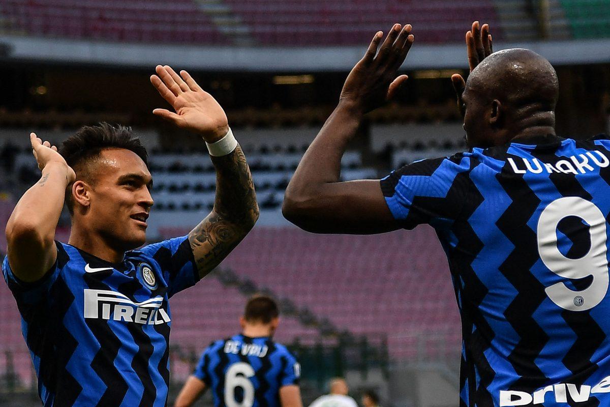 """Serie A: Lukaku y Lautaro Martínez blindan el """"Scudetto"""" del Inter de Milán"""