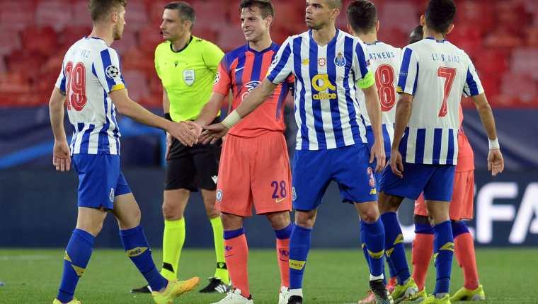 El Porto va en busca de un milagro y el Chelsea por el trámite para avanzar a semifinales. Foto Prensa Libre: AFP.