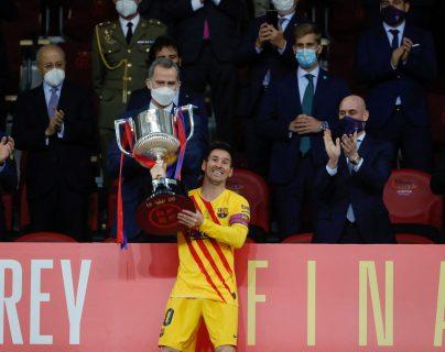 Lionel Messi: Es muy especial levantar esta Copa