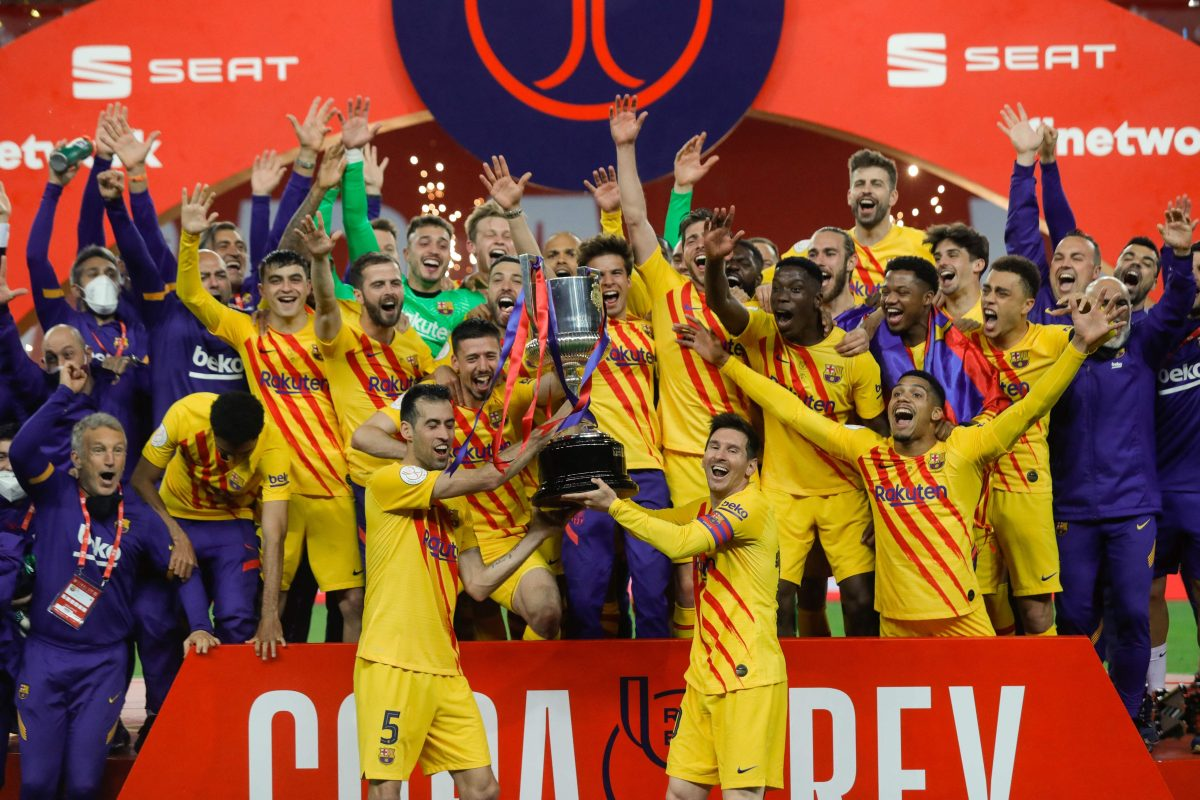 Barcelona es el campeón de la Copa; Messi marca un golazo en la final