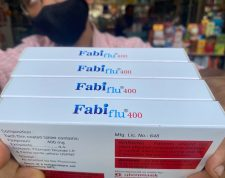 A staff sorts Fabiflu Tablets, an anti-viral medicine containing Favipiravir and used to treat mild to moderate Covid-19 caases, at a chemist shop in Mumbai on April 20, 2021 amidst rising Covid-19 coronavirus cases. (Photo by INDRANIL MUKHERJEE / AFP)