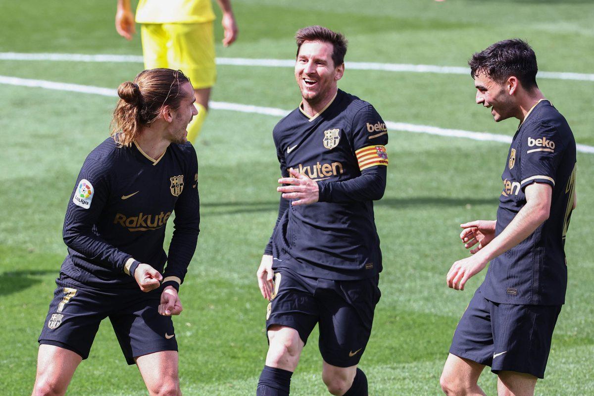 Doblete de Griezmann le da el triunfo al Barcelona y mete presión al Atlético