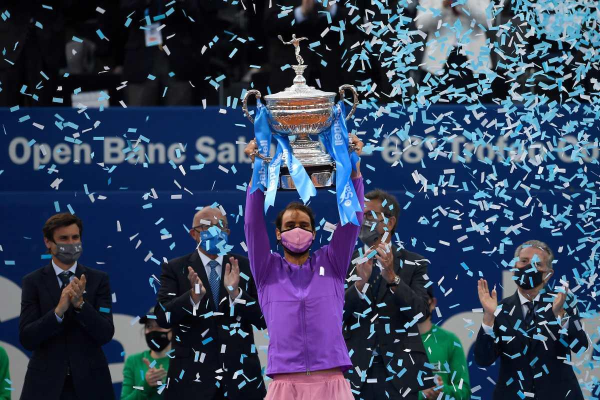 Rafael Nadal gana a Stefanos Tsitsipas y conquista el título 12 en Barcelona