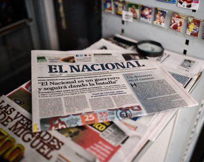 El fallo contra medio venezolano es una muestra de la censura a la libertad de Prensa, advierte la SIP. (Foto: AFP)