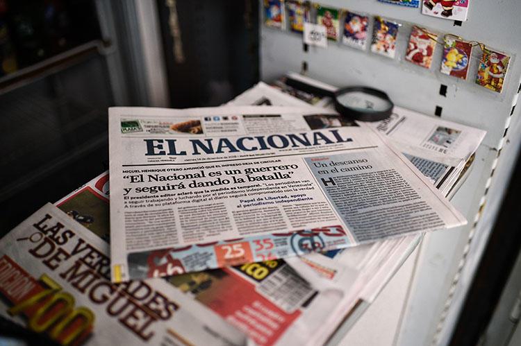 """""""Es un grave atropello"""": SIP tacha de expoliación sentencia contra el diario venezolano El Nacional"""