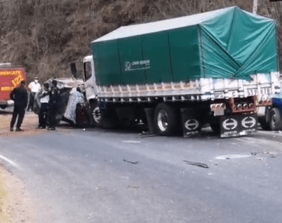 Tragedia familiar: cinco personas mueren en accidente de tránsito en Jutiapa