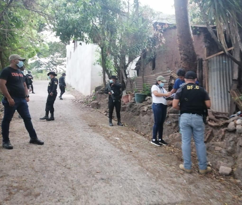 Al menos 12 capturados durante operativos contra pandillas y extorsionistas