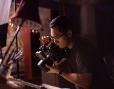 Romeo López Aldana es un joven cineasta apasionado por el género de terror y su carrera despega con buen pie.  (Foto Prensa Libre: cortesía Romeo López Aldana).