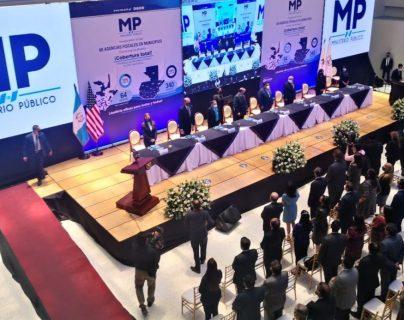 Ministerio Público habilita 68 agencias fiscales y logra cobertura en los 340 municipios del país