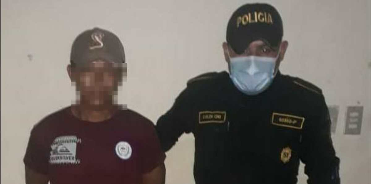 Capturado presunto violador de hija de 15 años y asesino de bebé producto de incesto