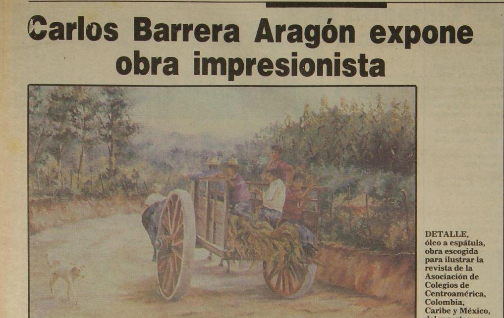 ¿Qué exposiciones de artistas guatemaltecos había en 1993?