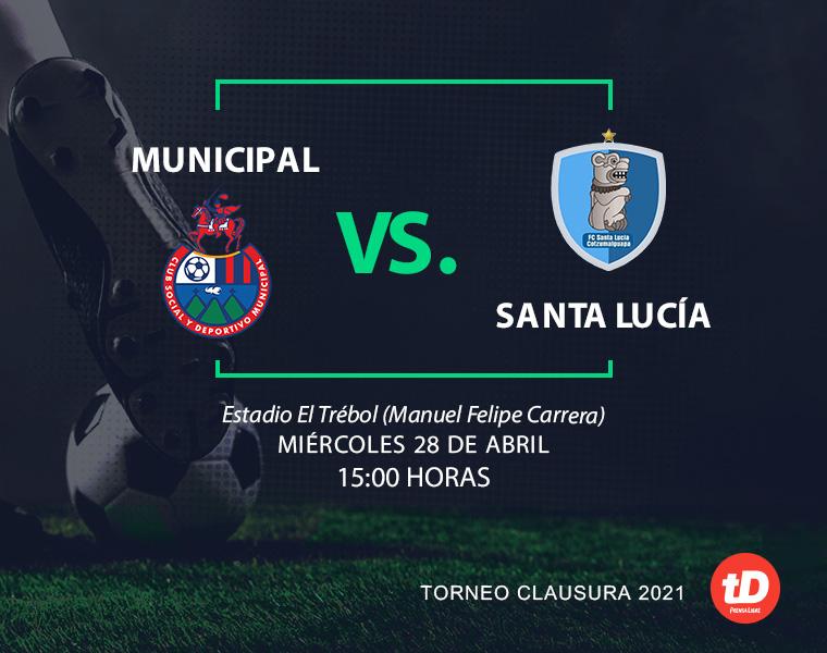 En Directo: Municipal vs. Santa Lucía Cotzumalguapa