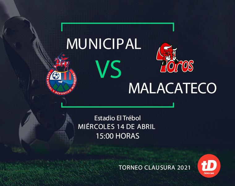 En Directo: Municipal vs Malacateco