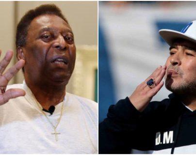 """Pelé: """"Siempre bromeaba con Maradona sobre quién era mejor"""""""