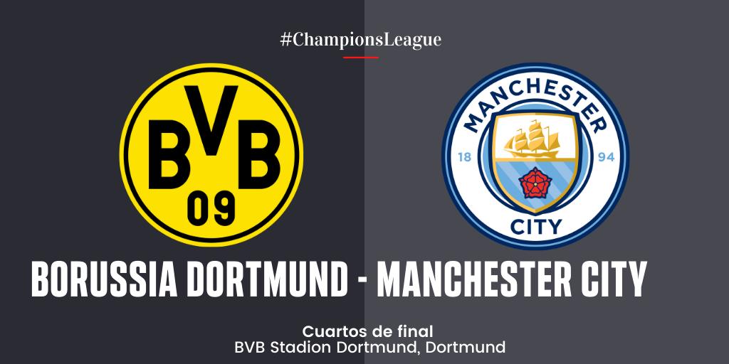 En Directo: Borussia Dortmund vs Manchester City