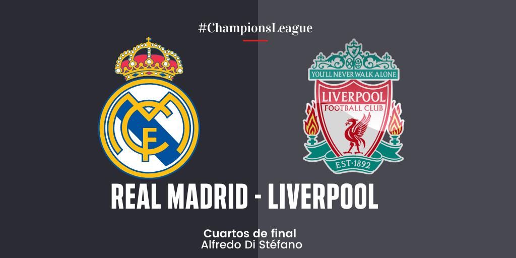 En Directo: Real Madrid vs Liverpool