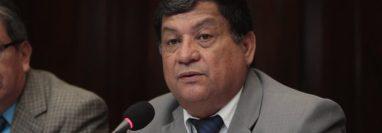 Baudilio Hichos fue electo diputado por Chiquimula durante varios periodos legislativos. (Foto HemerotecaPL)