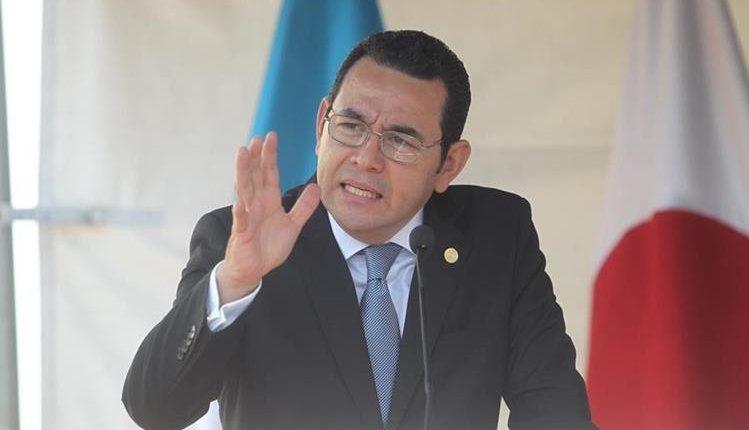 Expresidente Jimmy Morales. (Foto Prensa Libre: Hemeroteca PL)