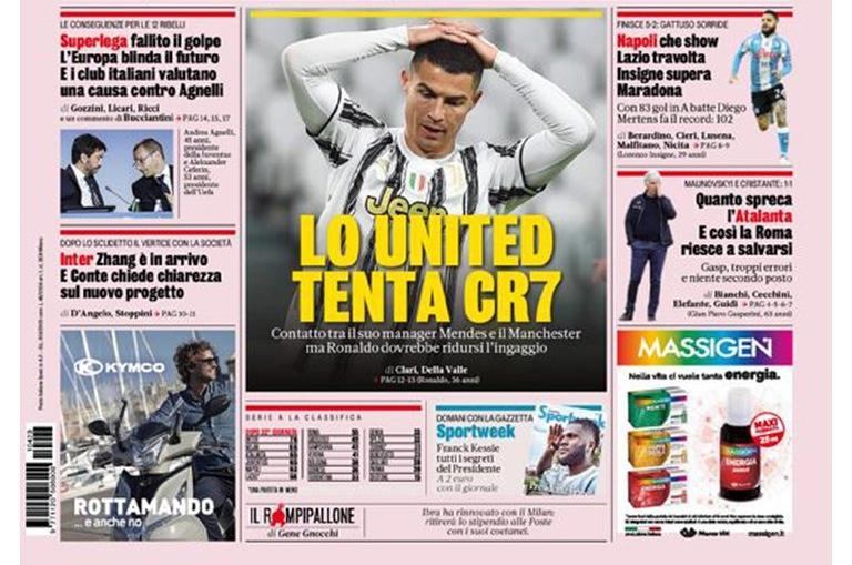 Tras negativa del Real Madrid, Cristiano Ronaldo abre la puerta para volver al Manchester United