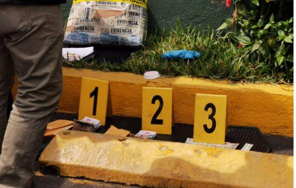 Indicios por captura de Pablo David Santos Álvarez en la zona 9 de la capital. (Foto Prensa Libre: MP)