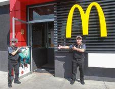 Por casi tres décadas McDonald's ha integrado a personas con capacidades diferentes en distintos puestos de trabajo. Foto Prensa Libre: Norvin Mendoza