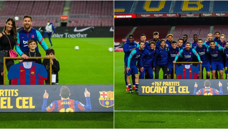 Leo Messi sigue haciendo historia en el FC Barcelona. De 2004 a la fecha. Foto Prensa Libre: @FCBarcelona_es