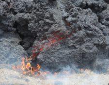 La actividad del Volcán de Pacaya no da tregua. (Foto Prensa Libre: Érick Ávila)