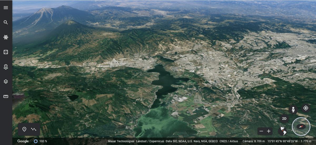 Google Earth Timelapse le invita a conocer la transformación de la Tierra durante los últimos 36 años