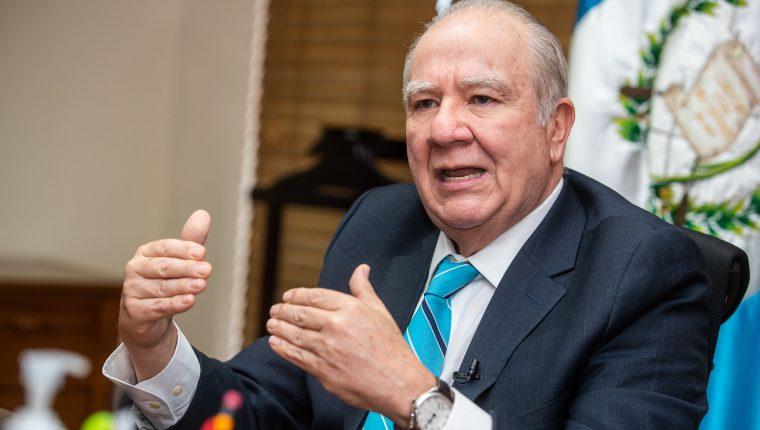 Roberto Molina Barreto, magistrado electo de la Corte de Constitucionalidad. Foto: Juan Diego González