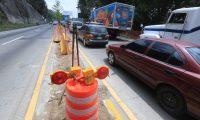 RUTAS ALTERNAS SAN LUCAS. Debido al cierre por aproximadamente 2 meses, de la carretera Interamericana en el kil—metro 27.5 para la construcci—n de un viaducto, el Ministerio de Comunicaciones ha informado de la existencia de 6 rutas alternas que los guatemaltecos podr‡n tomar para llegar a la capital o ir hacia el occidente del pa's. En la imagen, kil—metro 27.5 donde se construir‡ el viaducto.  Juan Diego Gonz‡lez.  230421