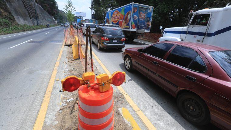 Conductores vivirán siete semanas de complicaciones a causa del cierre del km 27.5 de la ruta Interamericana. (Foto: Juan Diego González)