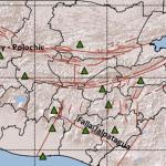 Mapa que muestra algunas de las principales fallas sísmicas del país. (Foto Prensa Libre: Cortesía IN3)