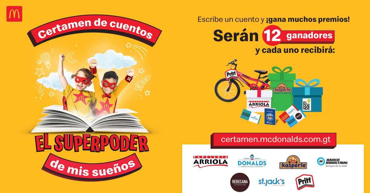 McDonald's continúa promoviendo el hábito de la lectura y escritura en los niños guatemaltecos