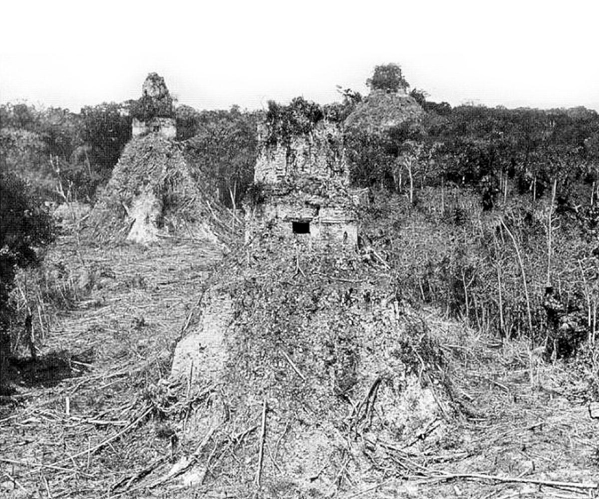 Historia de Guatemala: Méndez y Tut llegan a Tikal el 26 de febrero de 1848