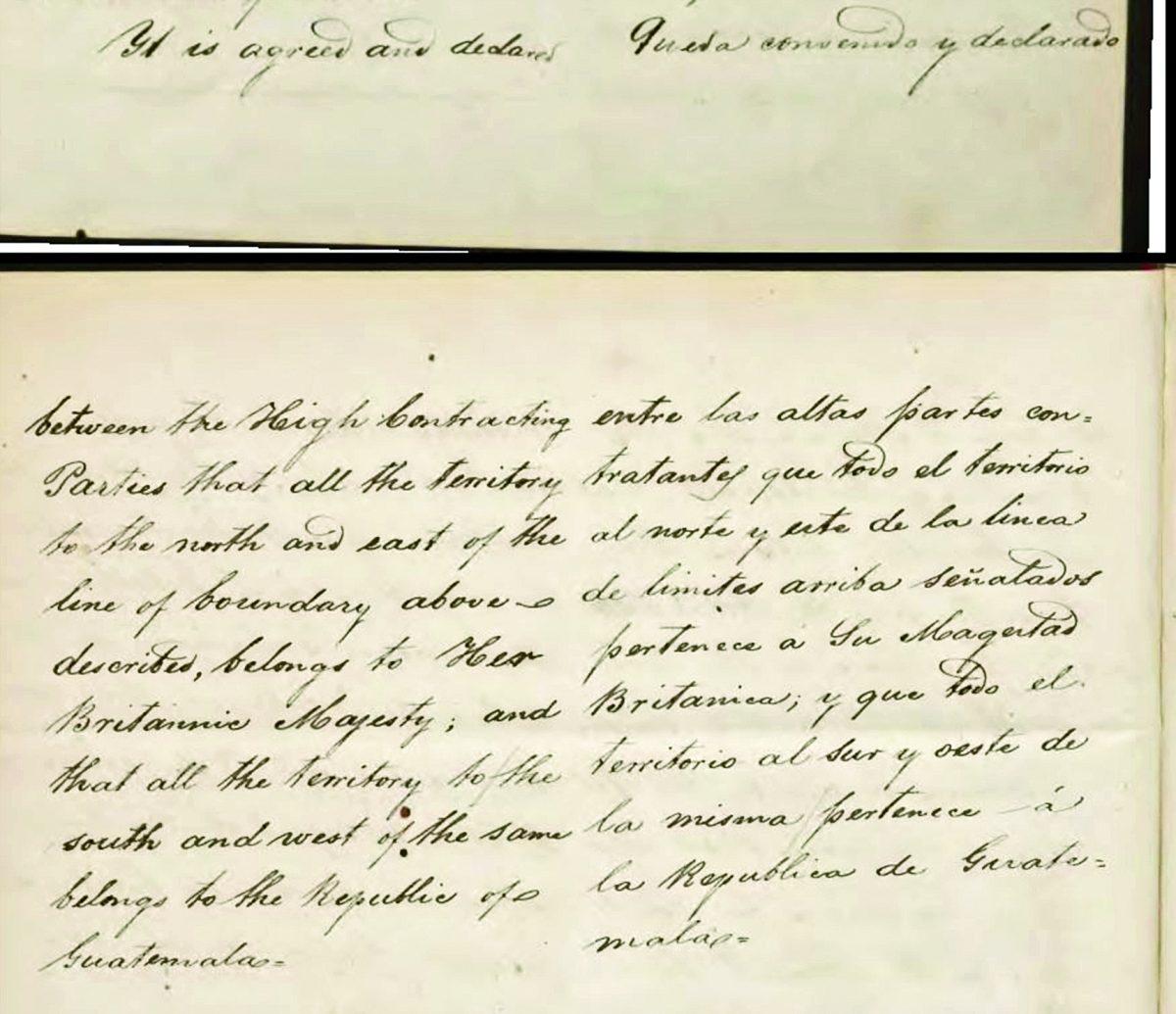 Historia de Guatemala: Se firma tratado Wyke-Aycinena sobre Belice en 1859