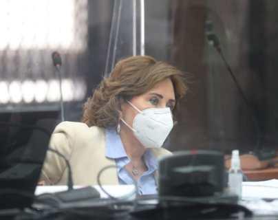 Juzgado mantiene arresto domiciliario y prohibición de reuniones políticas a Sandra Torres
