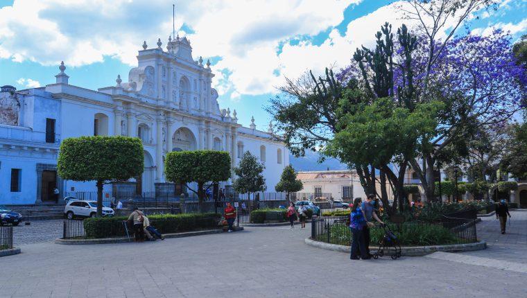 Montano hizo un llamado a que el sector turismo es importante para la reactivación económica dado que esa actividad representa el 7% del PIB. (Foto Prensa Libre: Juan Diego González)