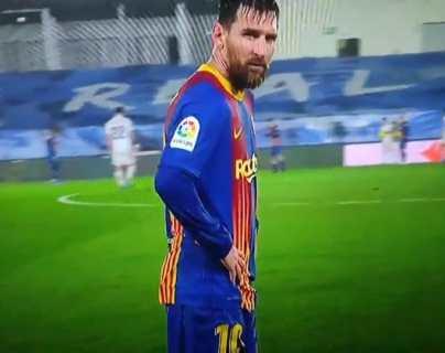 Imagen de Lionel Messi temblando de frío en el clásico español se hace viral