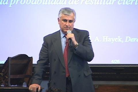 José Luis González Dubón fue presidente de la Liga Propatria. Foto Prensa Libre: Cortesía UFM.