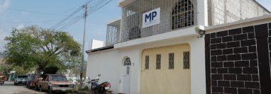 Agentes de seguridad de nuevas agencias fiscales denuncian que trabajan en condiciones laborales. (Foto Prensa Libre: Hemeroteca PL)